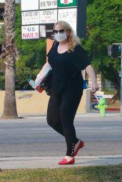 Rebel Wilson - Running Errands in LA 09/15/2020