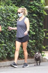 Reese Witherspoon - Walk With Her Dog in Brentwood 09/08/2020
