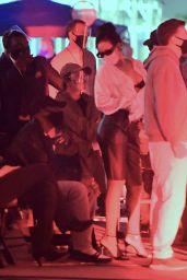Rihanna Spotted - Savage x Fenty Fashion Show Set 09/14/2020