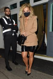 Rita Ora Night Out Style - Broadway Muswell Hill in London 09/18/2020