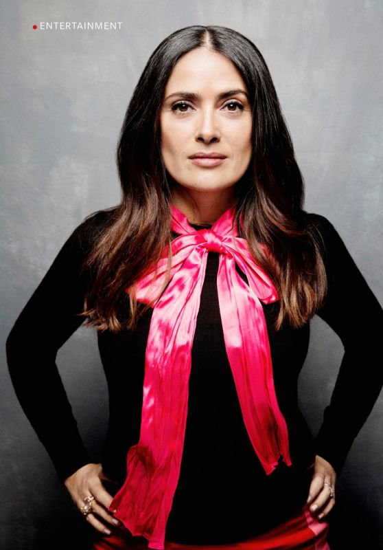 Salma Hayek - Readers Digest UK September 2020 Issue