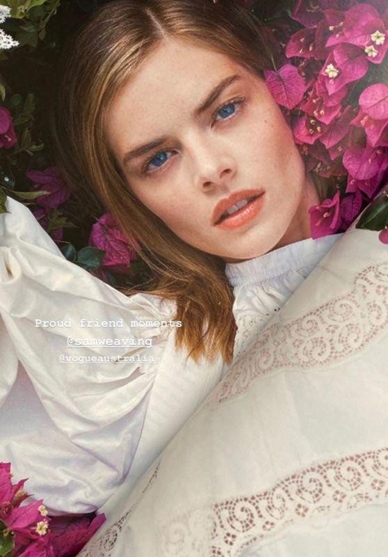 Samara Weaving - Vogue Australia September 2020
