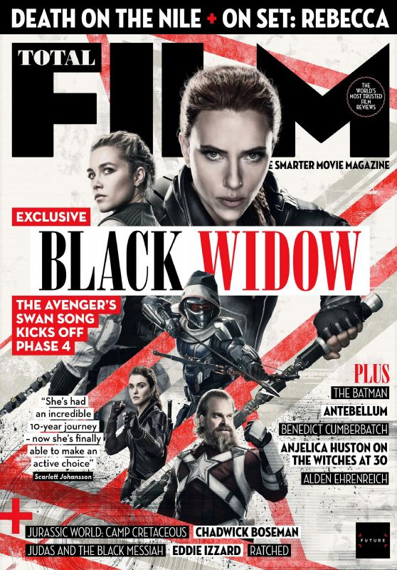 Scarlett Johansson and Florence Pugh - Total Film Magazine October 2020 Issue