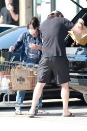 Shannen Doherty - Grocery Shopping in Malibu 09/05/2020