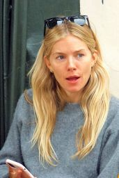 Sienna Miller - Out With Her Dog in London 09/08/2020