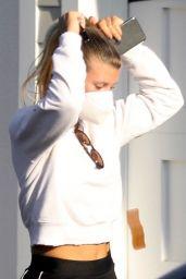 Sofia Richie - Arriving at a Friends Beach House in Malibu 09/20/2020