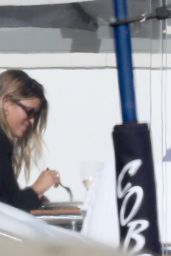 Sofia Richie - Having Lunch at the Balcony in Malibu 09/19/2020