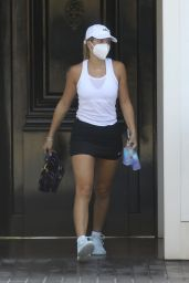 Sofia Richie - Heads Out for Some Tennis in Malibu 09/29/2020