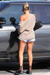 Sofia Richie in Denim Shorts - Malibu 09/02/2020