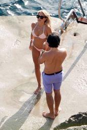 Sylvie Meis in a Bikini - Capri 09/23/2020 (more photos)