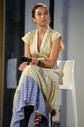 """Tess Masazza - """"The Time of Women"""" Event in Milan 09/12/2020"""