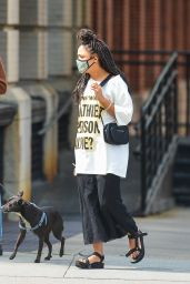 Tessa Thompson - Out in NYC 09/16/2020