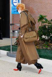 Tilda Swinton - Arriving at Venice Airport 09/01/2020