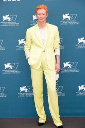 "Tilda Swinton - ""The Human Voice"" Photocall at the 77th Venice Film Festival 09/03/2020"