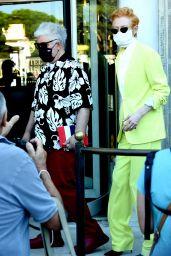 Tilda Swinton - Walking to Palazzo del Cinema During Venice Film Festival 09/03/2020