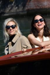 Vanessa Kirby and Katherine Waterston - Arriving to the Excelsior Hotel in Venice 09/09/2020