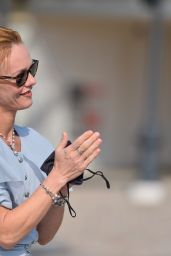Vanessa Paradis - Inauguration of the Gabrielle Chanel Square at the 46th Deauville American Film Festival