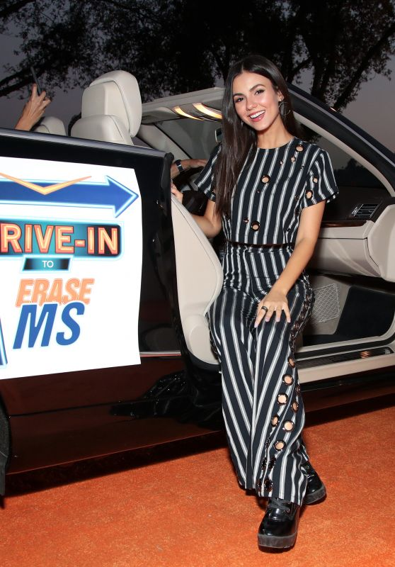 Victoria Justic – 2020 Race to Erase MS Drive-In Event in Pasadena