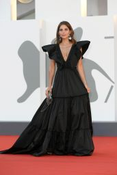 Weronika Rosati – 77th Venice Film Festival Closing Ceremony Red Carpet