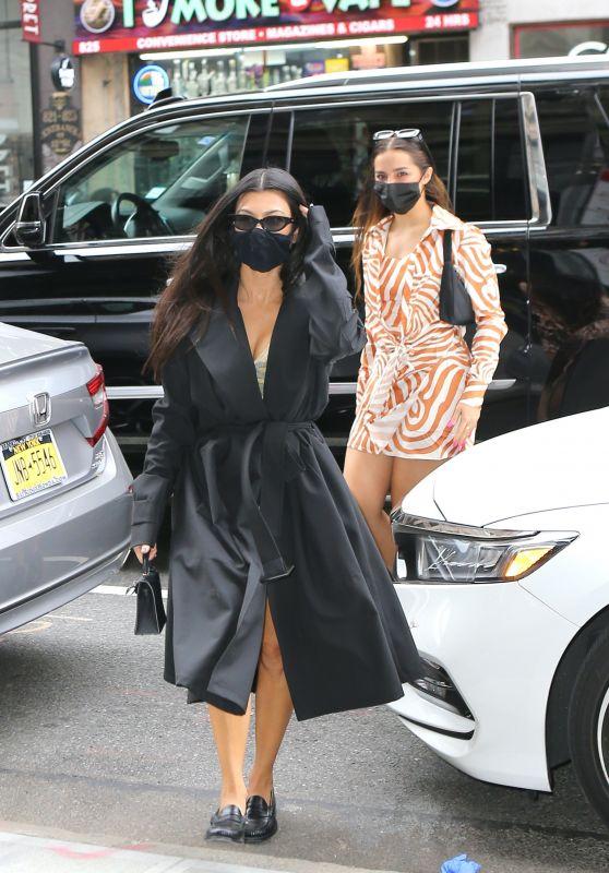 Addison Rae and Kourtney Kardashian - New York City 10/11/2020