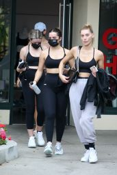 Addison Rae in Workout Gear in West Hollywood 10/20/2020