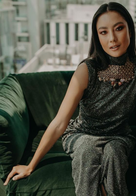 Adeline Rudolph - Photoshoot for The Muze Magazine October 2020