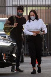 AJ McLean - Going to the DWTS Dance Practice in LA 09/29/2020