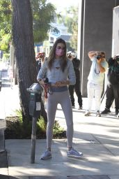 Alessandra Ambrosio - Arrives For Workout in West Hollywood 10/27/2020