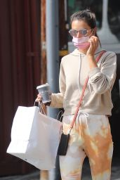 Alessandra Ambrosio - Out For Coffee the Brentwood Country Mart 10/21/2020
