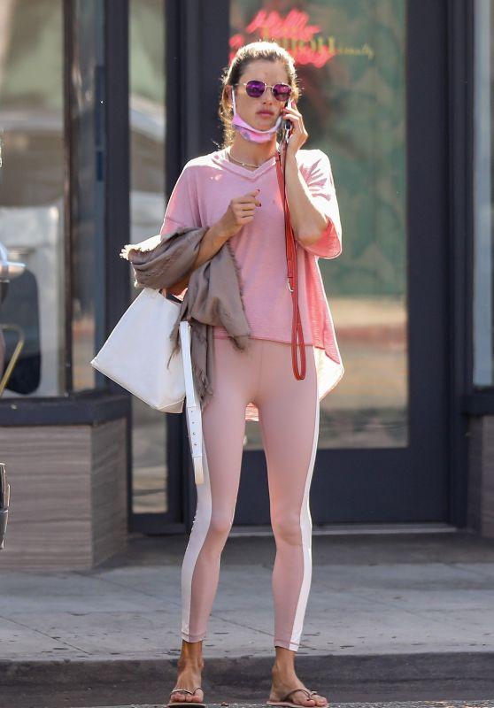 Alessandra Ambrosio - seen leaving Bijou Nails & Spa in Los Angeles, California | 01.10.2020 - x23