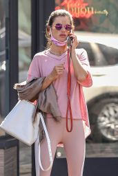 Alessandra Ambrosio - seen leaving Bijou Nails & Spa in Los Angeles, California | 01.10.2020 - x23