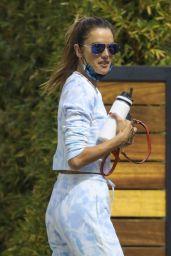 Alessandra Ambrosio - Visiting a Friend in LA 10/06/2020