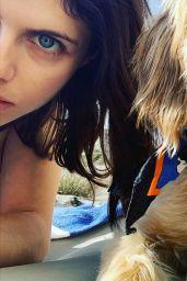 Alexandra Daddario - Social Media Photos 10/15/2020