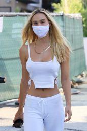 Alexis Ren Street Style - Los Angeles 10/04/2020