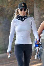 Ali Larter - Hiking in Santa Monica 10/12/2020