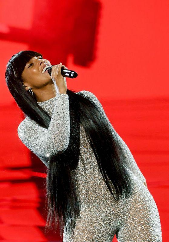 Alicia Keys - Performing at the Billboard Music Awards in Los Angeles 10/14/2020