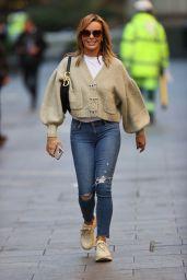 Amanda Holden in Tight Jeans - London 10/09/2020