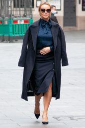 Amanda Holden -Leaving Global Studios in London 10/01/2020
