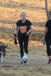 Amber Heard Goes on a Hike in LA 10/17/2020