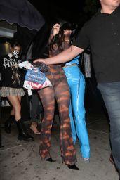 Anastasia Karanikolaou and Kylie Jenner - Nice Guy in West Hollywood 10/20/2020
