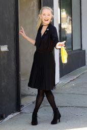 Anne Heche at the Dance Studio in LA 10/02/2020