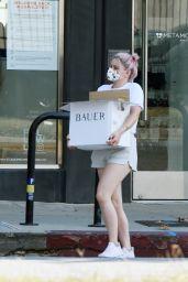 Ariel Winter in Shorts - Shops for Groceries in LA 10/05/2020