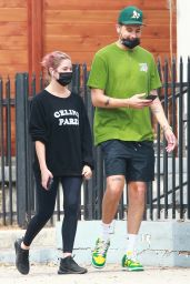 Ashley Benson and G-Eazy - Out in Los Angeles 10/09/2020