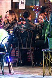 Ashley Benson Having a Romantic Dinner Date - La Poubelle in Hollywood 10/11/2020