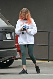 Ashley Benson in Casual Outfit in LA 10/22/2020