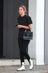 Ashley Benson - Leaves a Salon in LA 10/08/2020