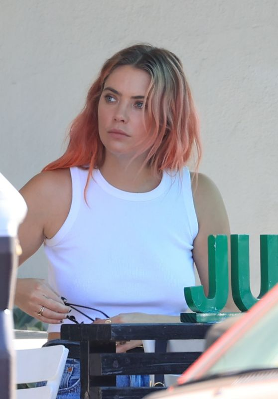 Ashley Benson - Out at Lunch in LA 10/14/2020