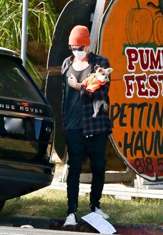 Ashley Tisdale - Goes to a Pumpkin Festival in LA 10/21/2020