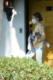 Ashley Tisdale - Leaving Her Home in LA 10/04/2020