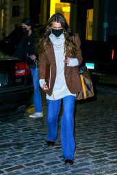 Bella Hadid in Casual Outfit - New York 10/29/2020